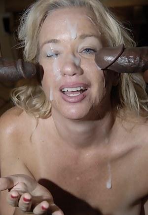 Hot Moms Bukkake Porn Pictures