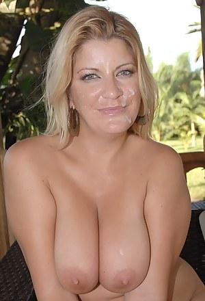 Hot Moms Facial Porn Pictures