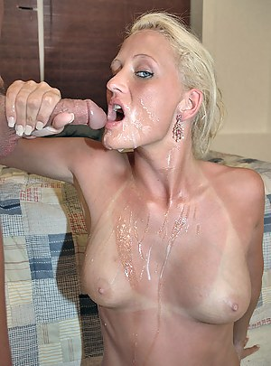 Hot Cum on Moms Tits Porn Pictures
